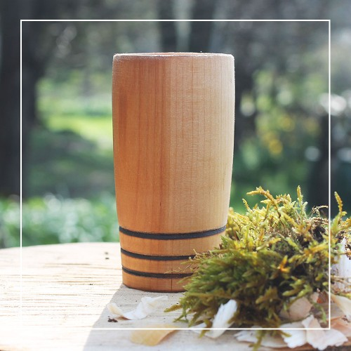Handcrafted Willow 3 Hoop Whisky Tumbler