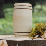 Handcrafted Sycamore Barrel Whisky Tumbler