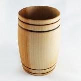 Couples tumbler barrel set in willow