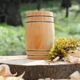 Handcrafted Alder Barrel Whisky Tumbler