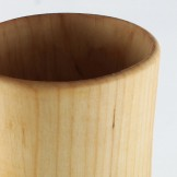Handcrafted Alder Natural Whisky Tumbler