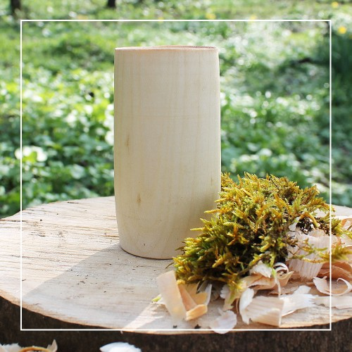 Handcrafted Sycamore Natural Whisky Tumbler