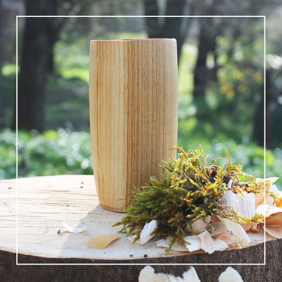 *SIGNATURE RANGE* Handcrafted Wild Cherry Natural Whisky Tumbler