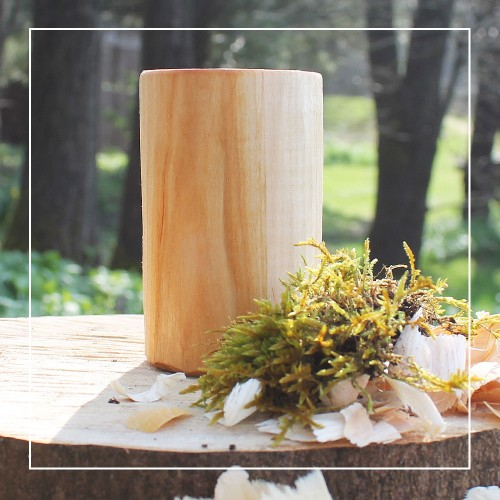 Handcrafted Willow Rustic Whisky Tumbler